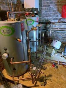 Loft boiler installation, Berkhamsted.