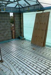 Underfloor heating installation in Boxmoor by Top Plumb